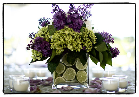 Also here is a picture of the lime hydrangea I think centerpiece I want