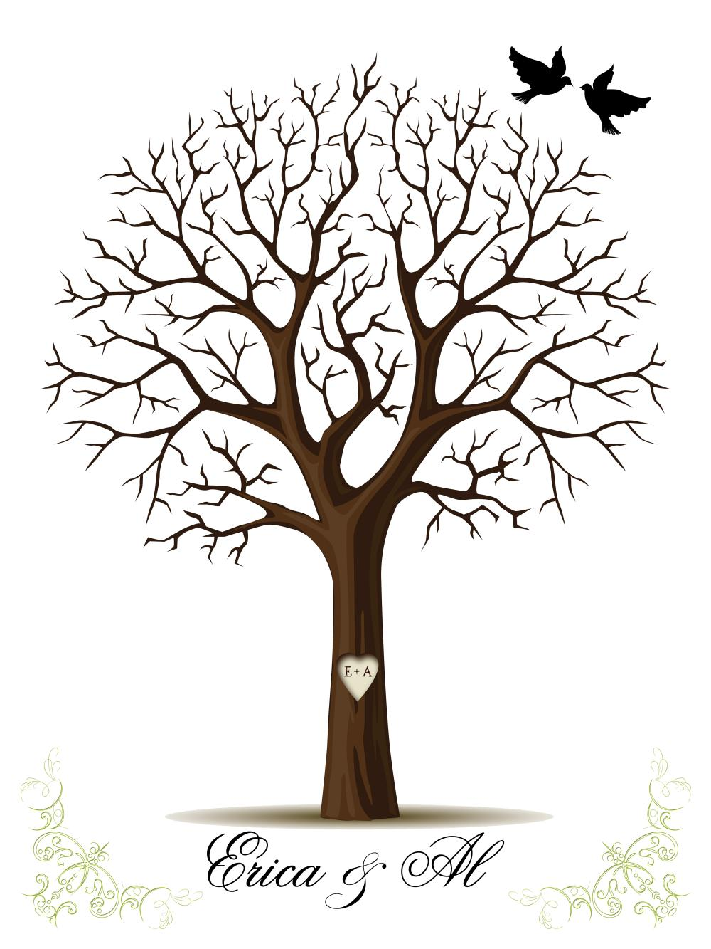 Fingerprint Tree Template Images | Crazy Gallery