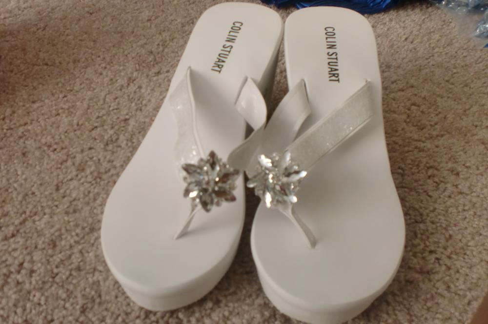 Dancing Shoes/Flip-Flops- Victoria s Secret.com with shoe clips from