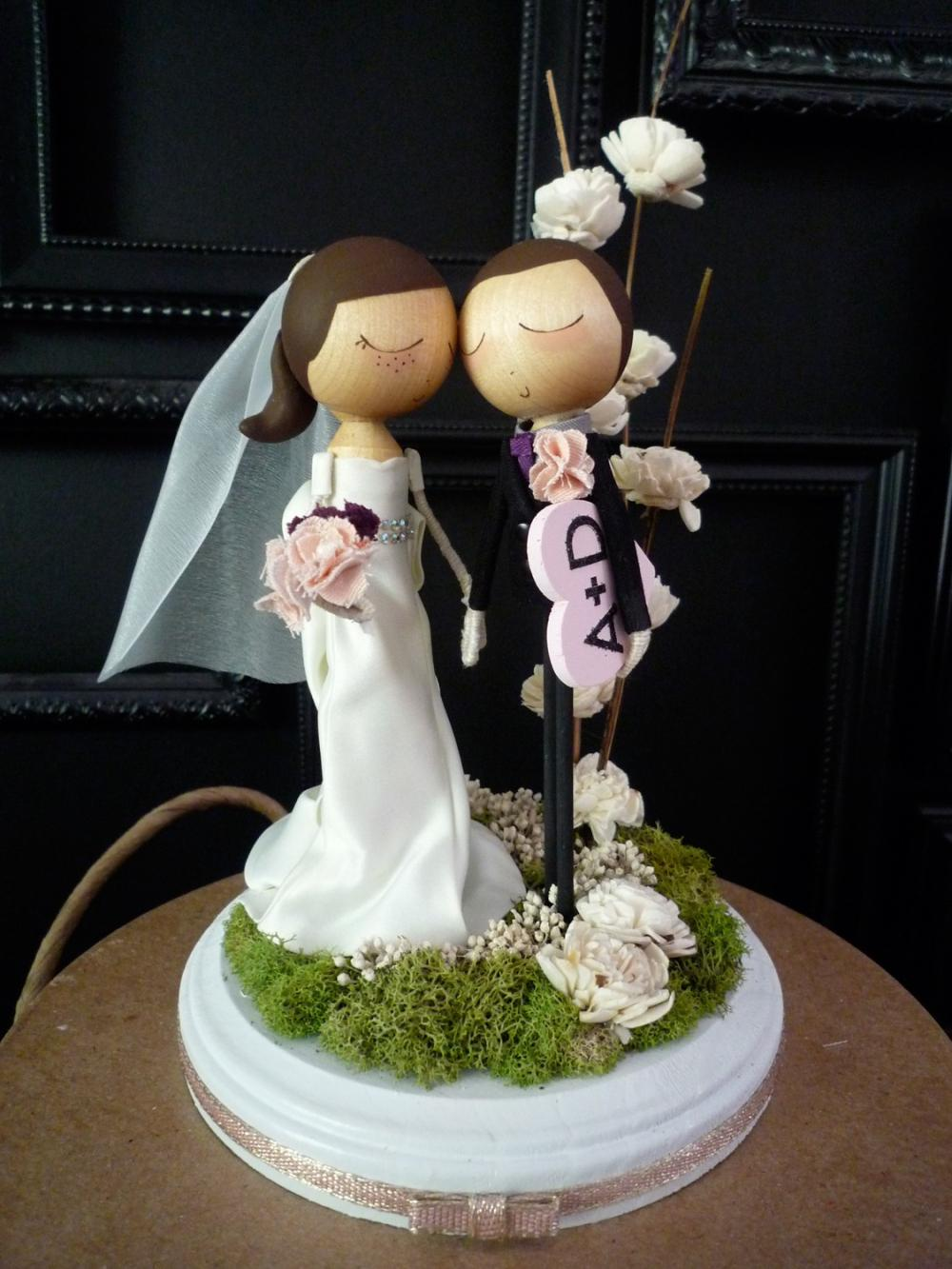 destination wedding cake toppers