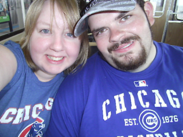 First Cubs game together!