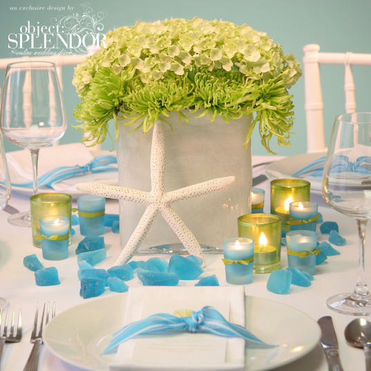 green wedding centerpiece original wedding dresses