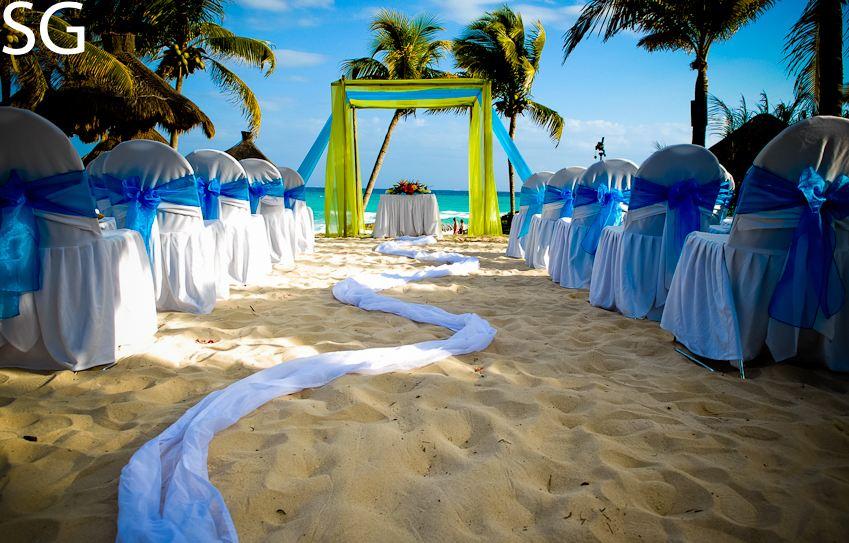 We will have a regular aisle runner with rose petals Wedding SetupJPG