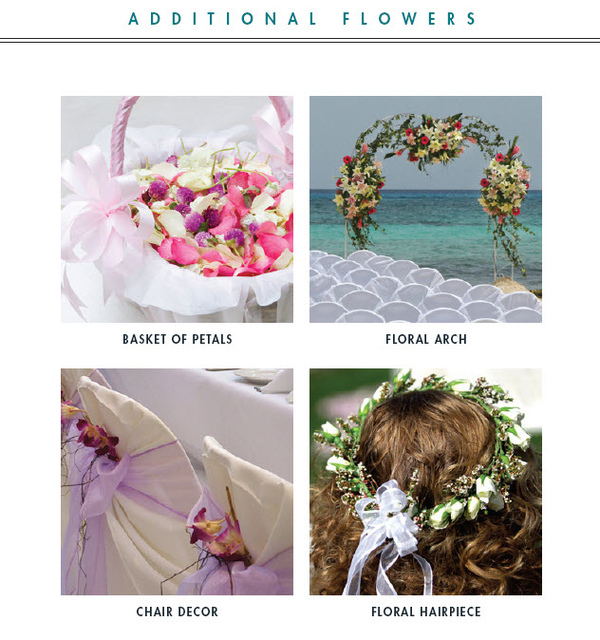 Flower Wedding Arch 450 Single Flower 12 Bag with Petals 15