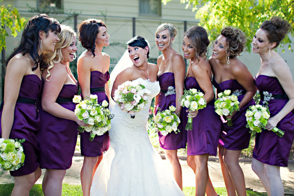 For ladies who are having a purple and green weddingmy inspiration board