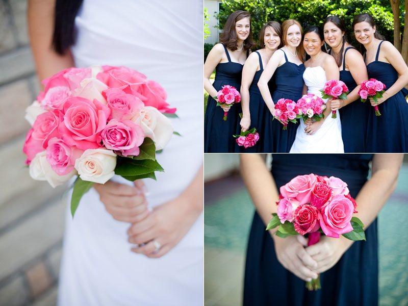 Navy and pink wedding ideas on pinterest navy navy pink for Navy blue and pink wedding